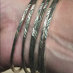 Jewelry - Brand New Sterling Silver Bangles